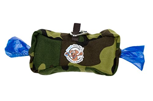 Doggie Doo All Wipes & Bags Dispenser, Camouflage/Olive a...