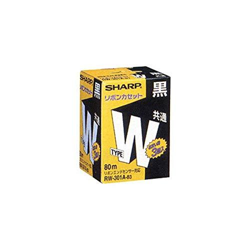 (まとめ)シャープ ワープロ用リボンカセットタイプW 黒 RW301AB3 1箱(3本) 【×3セット】 AV デジモノ プリンター その他のプリンター 14067381 [並行輸入品] B07L35ZNXK