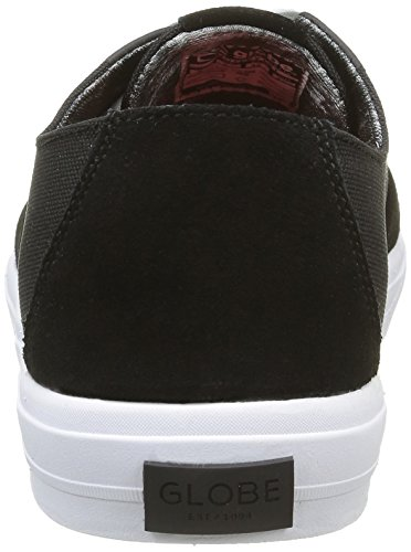 Globe Black LYT White Nero Sneaker Motley Uomo wZ0Hp