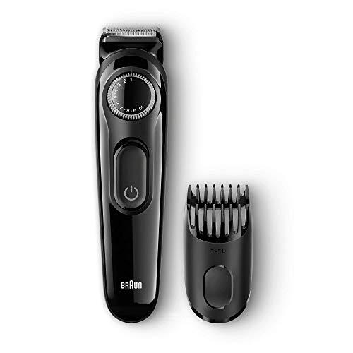 Braun BT3020 Beard Trimmer for Men  Black