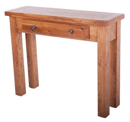 Sussex Beistelltisch, rustikaler Stil, Eichenholz, mit drawer