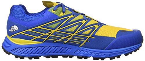 The North Face Herren M Ultra Endurance Laufschuhe, Grau Blau (Blue Quartz / Freesia Yellow)