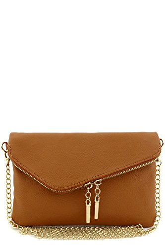 Envelope Wristlet Clutch Crossbody Chain product image