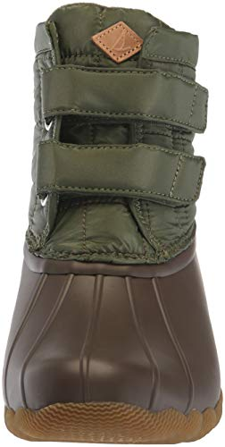 Green sider Boot Women's Sperry Snow Jetty Saltwater Top SOvx0P