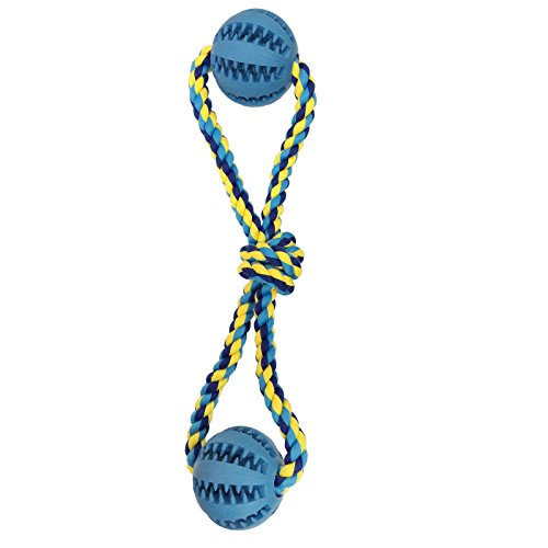Dog Rope Chew Toys with Ball for Tug of War with Your Small Medium and Large Size Puppy
