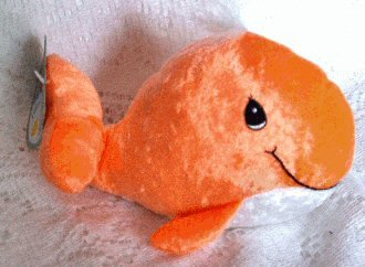 Precious Moments Tender Tails Orange Whale