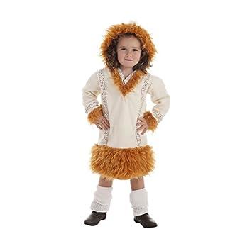 Disfraz de Esquimal NUI para niña: Amazon.es: Juguetes y juegos