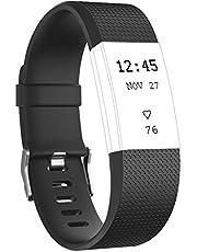 Tobfit Sport verstelbare vervanging polsband voor Fitbit Charge 2