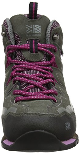 Karrimor Weathertite Tech Mid Approach Ladies Grey Pink r1zrqvwIa