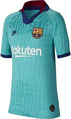 NIKE FC Barcelona 2019/20 Stadium Third Camiseta 3ª Equipación FC Barcelona 19-20, Unisex Adulto, Cabana/Deep Royal Blue, L: Amazon.es: Deportes y aire libre