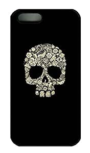 Cool Skull 2 - iPhone 5 5S Case Funny Lovely Best Cool Customize PC iPhone 5 Cover Black by lolosakes
