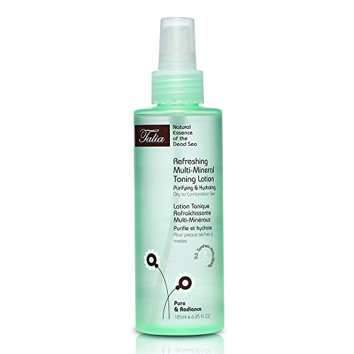 Talia Skin Care Refreshing Multi-Mineral Toning Lotion - Fragrance Free, All Skin Types - Multi Active Toning Lotion