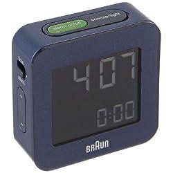 Braun BNC008BL-RC LCD Quartz Alarm Clock