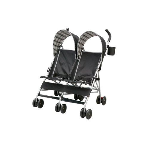 Delta Children City Street Side by Side Stroller, Black by Delta Children (Image #6)