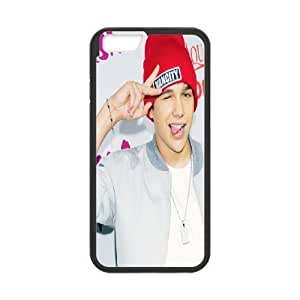 Cute Austin Mahone Case Cover For SamSung Galaxy Note 4 Pattern Case Luxury Iphone 5/5 {Black}