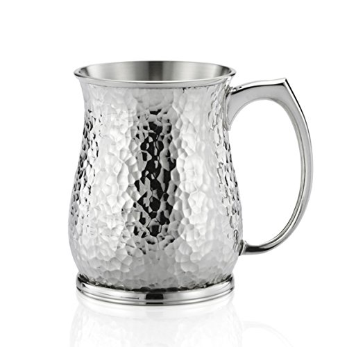 Royal Selangor Hand Finished Casual Elegance Collection Pewter Flint Tankard by Royal Selangor