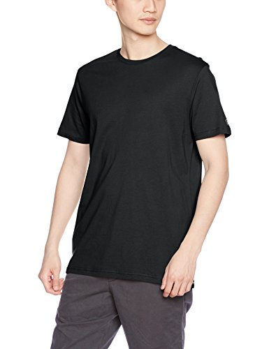 - Volcom Men's Solid Short Sleeve T-Shirt, Black, X-Large