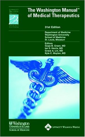 Washington Manual of Medical Therapeutics, 31st Edition