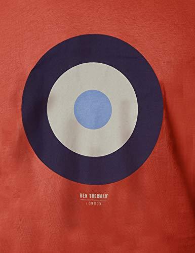 Camiseta red Ben Para Hombre Rojo Tee Sherman 550 Target AqtwStz7