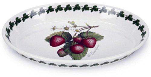 Portmeirion Strawberry (Portmeirion Strawberry Fair Earthenware 14.5 x 9-1/4-Inch Oval Baking Dish)