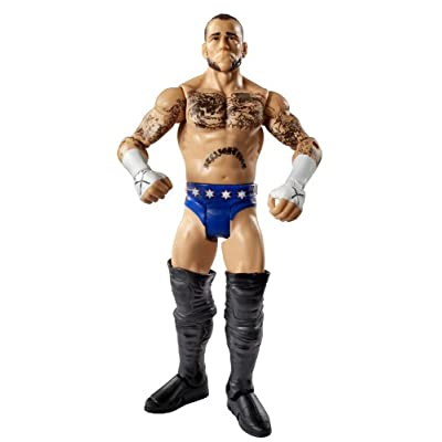 WWE Basic Series CM Punk Figure: Toys & Games
