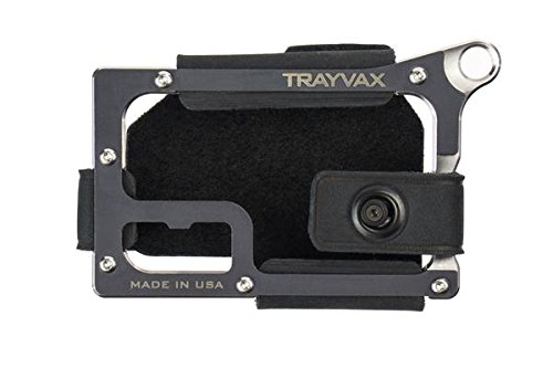 Trayvax Contour Wallet - Raw (Stealth Black)