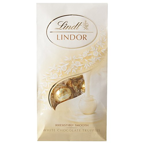 Lindt Lindor White Chocolate Truffles, 6 Oz (Pack of 3)