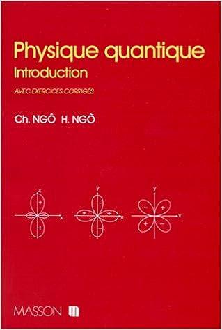 Livres gratuits en ligne Physique quantique. Introduction avec exercices epub, pdf