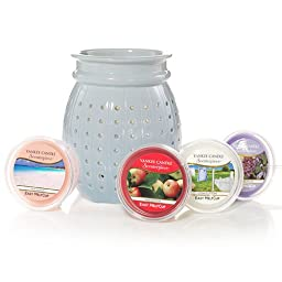 Yankee Candle Olivia Blue Kit Scenterpiece Easy MeltCup Warmer