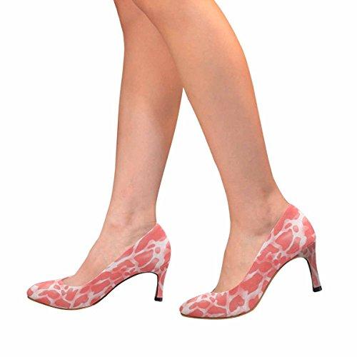 High Classic Skin Dress Skin Allover Giraffe Womens Print Pump InterestPrint Animals Fashion Heel tfw1wqa