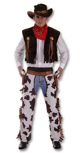 Plus Size Men's Cowboy Costume