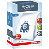 Miele AirClean/HyClean 3D Efficiency Dust Bag, Type GN, 4 Bags & 2 Filters 10123210 BuyParts