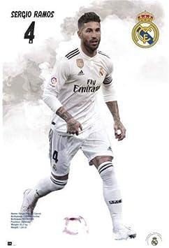 40/x 50/cm Grupo Erik Erik editores Mini Poster Real Madrid 2018//2019/Sergio Ramos