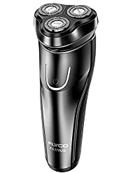 Electric Rotary Shaver,FLYCO Electric Shaver Wet & Dry...