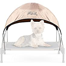 "K&H Pet Products Pet Cot Canopy Small Tan 17"" x 22"""