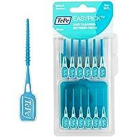 TePe Easy Pick Interdental Brush, Blue, Size: M/L, Pack of 4 x 36