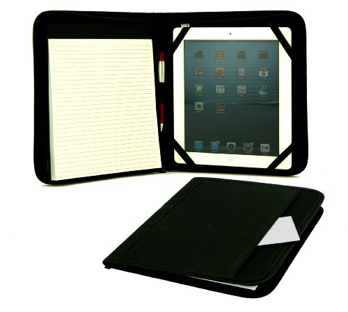 Ipad Tablet/ E-Reader Padfolio/ Padfolio Holder, Black by Shop123go-Electrial Accessories
