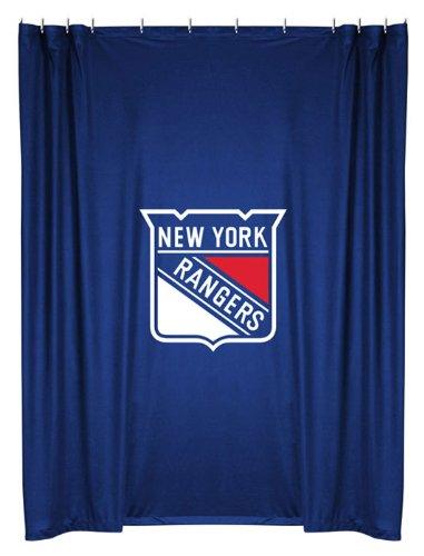 Rangers Valance (2pc New York Rangers NHL Valance Set and Shower Curtain)
