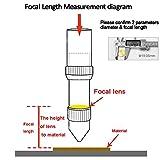TEN-HIGH CO2 Laser Lens 18mm Laser Mirror CO2 Laser