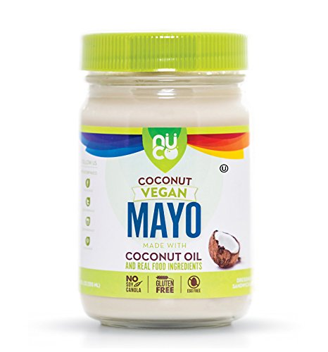 NUCO Coconut and Avocado Oil Mayo, Paleo, Vegan, Gluten and Egg Free, 12 Oz (1 Jar)