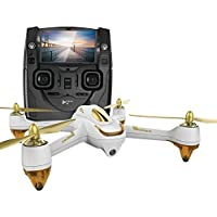 Hubsan H501S X4 BRUSHELESS FPV Quadcopter Drone 1080p Camera GPS Automatic Return Altitude Hold Headless Mode (white)