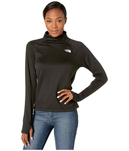 The North Face Women's Canyonlands 1/4 Zip, TNF Black, M (Womens North Face Fleeces)