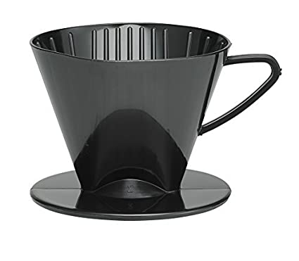 8c5bc07e89b Amazon.com  HIC Harold Import Co. 2662 coffee filter cone No.2 Black ...