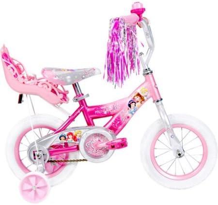 Huffy 12 Disney Princesa niñas de Bicicleta con muñeca Carrier 32 ...
