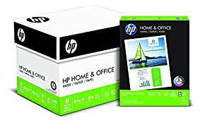 HP Paper, Home & Office Paper Poly Wrap, 20lb, 8.5 x 11, Letter, 92 Bright, 2400 Sheet / 8 Pack Case (200300C) Made IN The USA