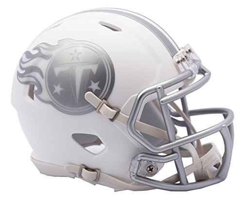 NFL Tennessee Titans Riddell Ice Alternate Full Size Speed Replica, Silver, Small by Riddell