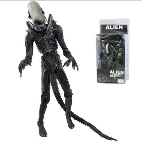 Niky's Gift Aliens AVP 8in. Action Figure Alien Xenomorph Warrior The Brown NECA Reel Toys
