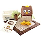 Baby Aspen, My Little Night Owl Five-Piece Baby Gift Set