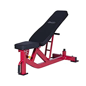 Soozier Ten-Position Adjustable Home Fitness Weight Bench
