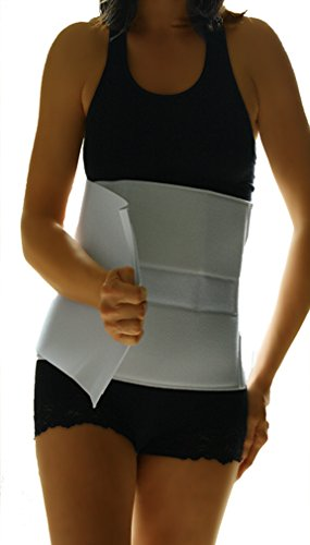 Alpha Medical Abdominal Binder Support Wrap/Surgical Binder/Hernia Support/Abdominal Hernia Reduction Device. L0625 (10